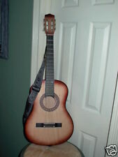 Acoustic Guitar with Echolac Guitar Strap