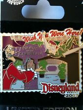 Disney Peter Hook Pirate Wish You Were Here 2007 Pin LE