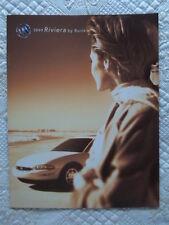 BUICK Riviera 1999 orig rare USA Market sales brochure - NO CARS MADE