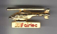 RARE PINS PIN'S .. AVION PLANE HELICOPTERE HELICOPTER AIRLEC AVIATION OR 3D ~CZ