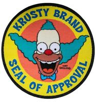 The Simpsons - Krusty Brand Seal of Approval Patch-IKO1493-IKON COLLECTABLES