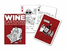 Piatnik Wine Cartoons Playing Cards