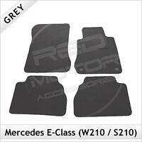Mercedes E-Class W210 1995-2002 Tailored Carpet Car Floor Mats GREY