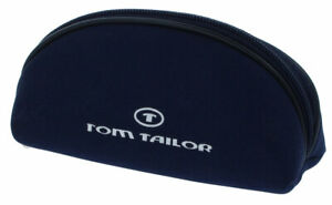 """Modernes Taschen-Etui mit Reißverschluss von """"TOM TAILOR"""" in klein in Blau"""