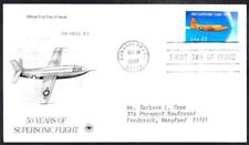BELL X-1 FIRST SUPERSONIC JET FLIGHT Stamp 3173 FDC Space Cover (191ay)