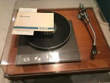 Garrard 401 Turntable In a SME Plinth With SME 3012 Tone Arm, Immaculate.