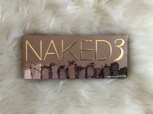Urban Decay Naked 3 Eyeshadow Palette. New In Box! Full Size!