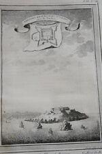 GRAVURE AFRIQUE FREDERICKBOURG FORT D'ANOIS GHANA 1747