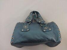 AVON WOMENS BLUES CLASSIC HAND BAG PURSE SATCHEL