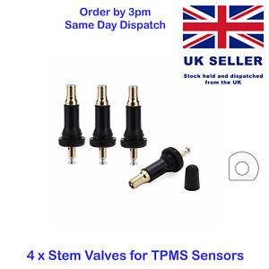 4 Replacement OE TPMS Tyre Pressure Sensor Valve Stem Dacia Duster Sandero Logan