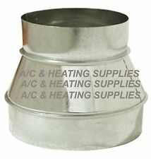 6 x 4 Round Duct Reducer / Increaser  6 to 4 HVAC