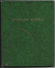 1938-1989 Complete Jefferson Nickel Set Whitman Grn Album w/BU 1950-P & 1950-D