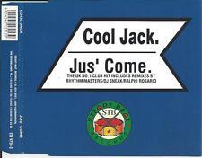 COOL JACK - Jus' come CDM 6TR Italo Euro House 1997 HOLLAND RARE!