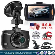 1080P HD Car DVR Dash Vehicle Camera Video Recorder Cam Night Vision G-Sensor US