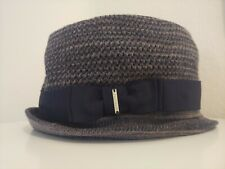 "NWT Diesel Claudyano Hat (Navy & Gray) Size Approx. 22"" Circ. (Read Description)"