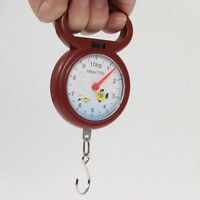 10kg Portable Fishing Weighing Dial Hanging Scale Numeral Pointer Kitchen Travel