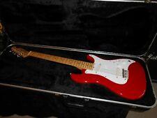 Fender USA Bullet 1981-1983 S-2 Fullerton factory w/ OHSC Dakota Red