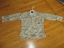 USMC US MARINE CORPS MARPAT / MCCUU DIGITAL DESERT CAMO FIELD BDU SHIRT  MED REG