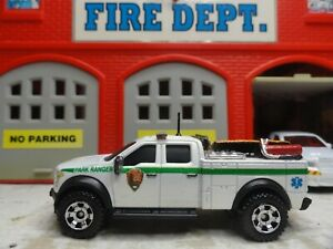 MATCHBOX FIRE FORD F-150 U.S  PARK RANGER PARAMEDIC CUSTOM KITBASH UNIT