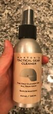 Paxton's tactical gear cleaner 4oz