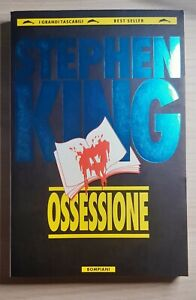 OSSESSIONE Stephen King 1990 BOMPIANI GRANDI TASCABILI Rarissimo.