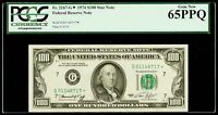 $100 1974 Federal Reserve* Star Note PCGS Gem New 65 PPQ