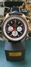 Breitling Chrono-Matic R14360 18k Rose Gold Limited Edition Mens Watch Mint