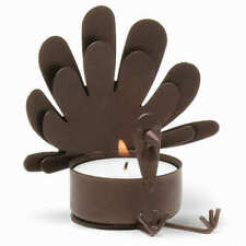 Tag Sitting Turkey Tealight Candle Holder