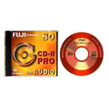 Fuji CD-R Pro 80min FOR AUDIO Rotation Stabilizer writeonce nouveau (World *) 002-131