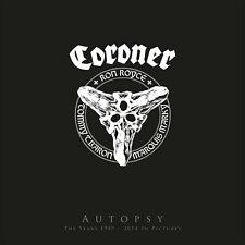 CORONER - AUTOPSY 3 BLU-RAY+LP VINYL  LIMITED BOXSET +++++ NEU