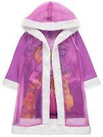 Disney Princesse Raiponce Robe de Nuit et Cape à Capuche Robe de Chambre 1-8 An