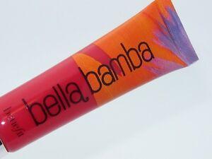 """Benefit Cosmetics Ultra Plush Lip Gloss """"Bella Bomba"""" Full Size NEW!"""