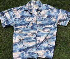 Vintage Mens Kahala Hawaiian Short Sleeve Button-up (Size Xl)