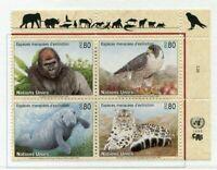 19625) United Nations (Geneve) 1993 MNH Wild Animals + Lab