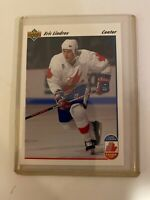 Eric Lindros 1991-92 Upper Deck Card In Protective Sleeve