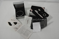 "NIB Set of Pandora Limited Edition CZ Snowflake Bangle 7.5"" and Pandora Care Kit"