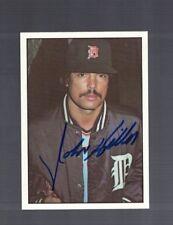 John Hiller Detroit Tigers 1975 SSPC Autographed Baseball Card W/Our COA