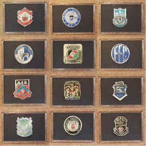 Esso 1970s Thin Metal Foil Football (Soccer) Badges Fridge Magnet Various Teams