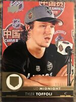 Tyler Toffoli 2017-18 UD Midnight #'d/25 Los Angeles Kings