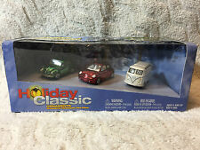 Johnny Lightning  - 2003 Volkswagen Box Set 3 Holiday Classic Ornaments