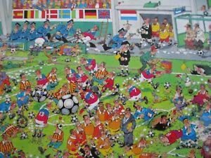 Cartoon Capers Ceaco Jigsaw Puzzles 550 pcs