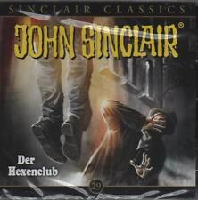 JOHN SINCLAIR CLASSICS TEIL 29 - Der Hexenclub - AUDIO CD - NEU