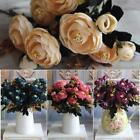 Nice Camellia Silk Flowers Rose Decor Home Wedding Shop Party Craft Bridal Gift