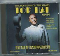 CD Henry Mancini & Mancini Pops Orchestra: Top Hat (RCA) 1992