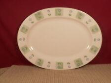 "Pfaltzgraff Dinnerware Cloverhill Floral Pattern Oval Platter 14 3/8"""