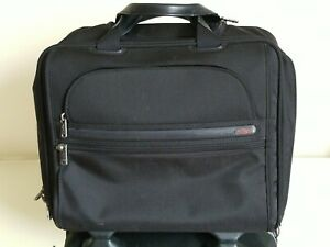 TUMI Wheeled Rolling Briefcase Computer Bag Carry On  26102D4