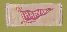 1910s S24 Twelfth Night cigarettes silk HARVARD UNIVERSITY