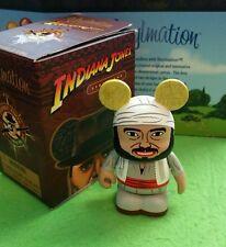 "DISNEY VINYLMATION Park - 3"" Inch - Indiana Jones Set 1 Sallah with Box"