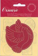 Pochoir de piquage Oiseau Colombe Ornemental pricking Stencil Dove