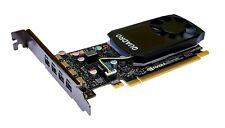 New Dell Nvidia Quadro P600 2GB GDDR5 (Mini DPx4) Video Graphics Card 9460M